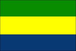 Gabun Flage